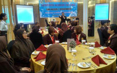 Kunjungan Industri Kompetensi Keahlian Tata Boga di Luminor Hotel Banyuwangi