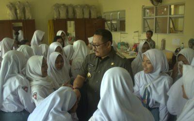 Kunjungan Wakil Bupati Bondowoso di SMK Negeri 2 Bondowoso